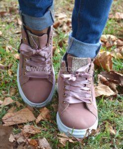 sneakers rosa que barbara
