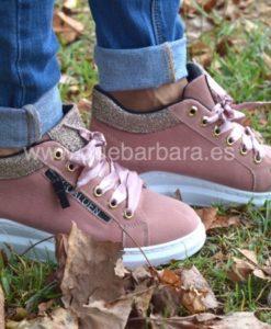 sneakers cuña que barbara