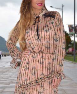 vestido elegante que barbara