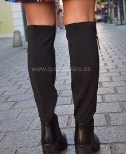 botas negras plataforma que barbara
