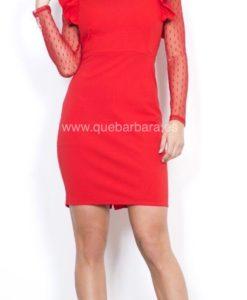 vestido fiesta rojo que barbara