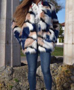 abrigo multicolor que barbara