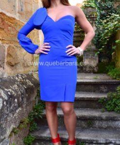 vestido azul tinta que barbara