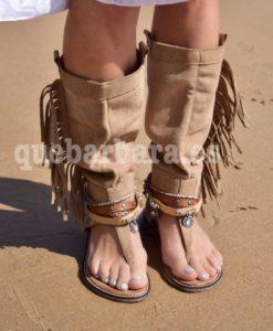 sandalias tribales que barbara