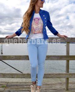 pantalon azul que barbara