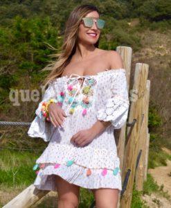 vestido ibiza playa que barbara