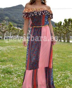 vestido patchwork que barbara