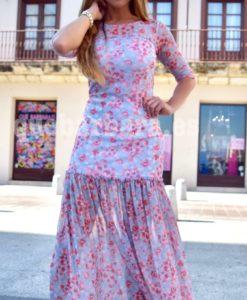 vestido largo quebarbara