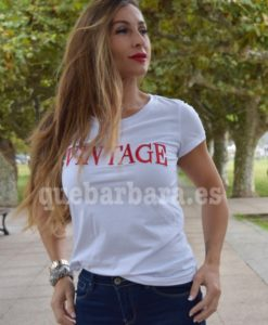 camiseta vintage que barbara