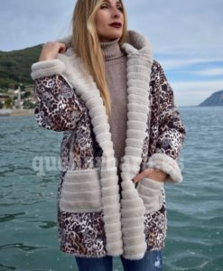 abrigo reversible que barbara