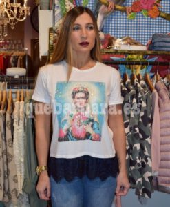 camiseta frida que barbara