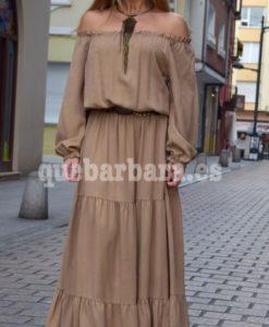 maxi dress liso que barbara
