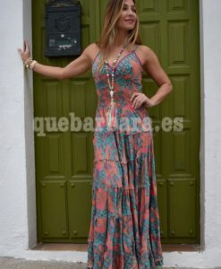 maxi dress seda que barbara