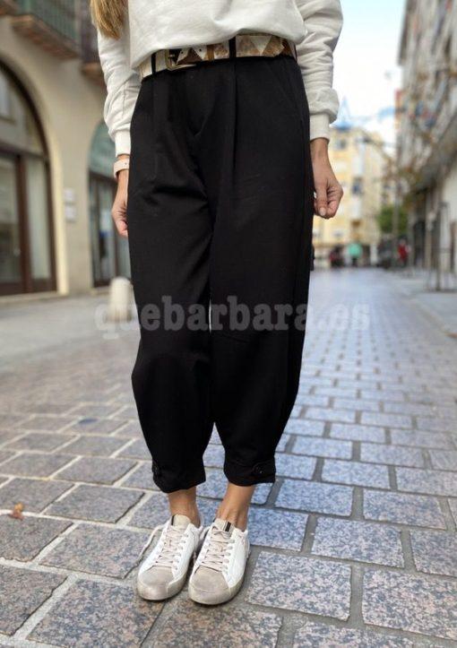 pantalon slouchy negro que barbara