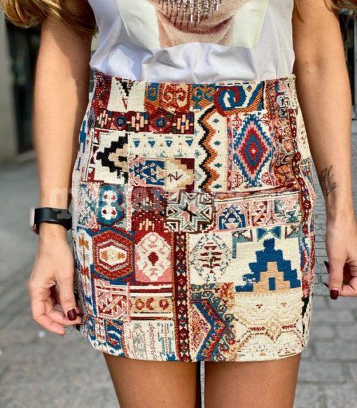 falda etnica que barbara