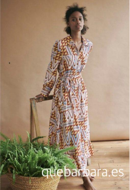 vestido largo tribal que barbara